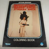Star Wars The Empire Strikes Back Coloring Book Kenner 1980