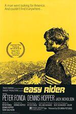 EASY RIDER - MOVIE POSTER - 24x36 FONDA HOPPER ONE SHEET 1748