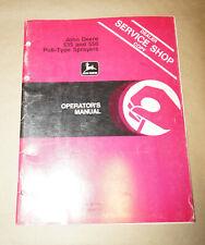 1977 John Deere 535 & 550 Pull-Type Sprayers Operator's Manual Om-N159460