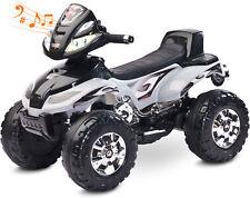 Quad Elektroquad Elektrofahrzeug Kinderfahrzeug Akkubetrieben Motor 20W MP3 CUAT
