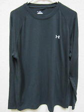 Under Armour Men's Large Black Heat Gear Long Sleeve T-shirt Versus