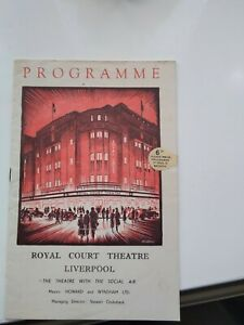 "Royal Court Theatre Liverpool 1951""La Traviata"" Carl Rosa Opera Programme."