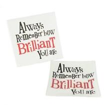 Bright Side Always Remember How Brilliant You Are Glass Tray