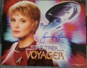 Star Trek Jennifer Lien  Personally Signed Print
