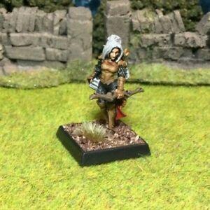 Beautifully Painted Metal Female Elf Ranger Miniature - Frostgrave D&D RPG #2