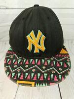 New York Yankees New Era 9FIFTY Baseball Hat Cap MLB SnapBack Aztec 90s