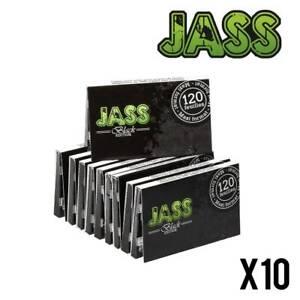 Jass Regular BLACK Edition 10 Carnets de 120 Feuilles