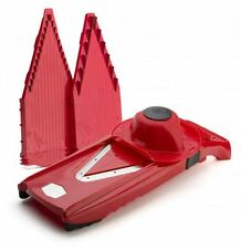 New Borner V5 Power Slicer Red Stainless Steel Kitchen Blades Cutting Slicing