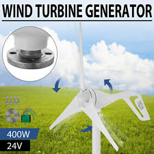 Wind Turbine Generator 400W DC 24V With Charge Controller Low Wind Speed Start