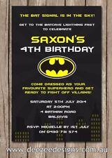 Birthday Batman Party & Special Occasion Supplies