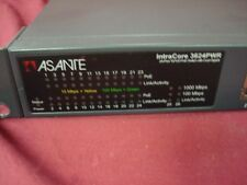 Asante Intracore 3624-PWR 24 Port 10/100 PoE Switch w/Dual Gigabit
