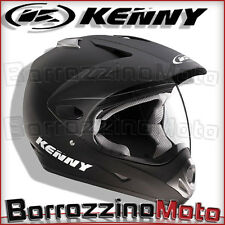CASCO KENNY OFF-ROAD ENDURO TRIAL QUAD NERO OPACO TG XL