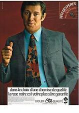 PUBLICITE  1970  DIOLEN STAR  chemise