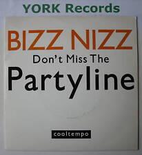 "BIZZ NIZZ - Don't Miss The partyline - Ex Con 7"" Single"