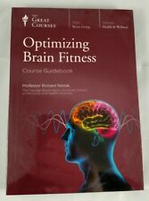 The GREAT COURSES Optimizing Brain Fitness 2 DVDs + Guidebook Brand NEW! SEALED!