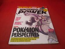 Nintendo Power Volume 215 Pokemon Diamond Palkia Cover w/ Zelda Ocarina Map #B1