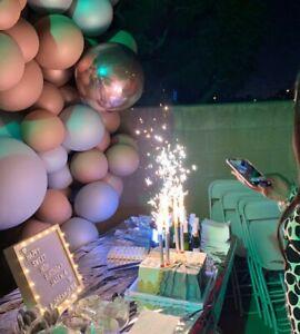 4 Birthday Candles Fun VIP Wedding Cake Celebrity candle Velas De Cumpleanos