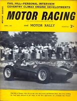 Motor Racing - BRSCC journal - magazine - April 1959