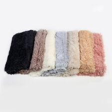 Faux Fake Fur Fabric,Long Hair Pile Flokati Mongolian Style Wooly Craft Material