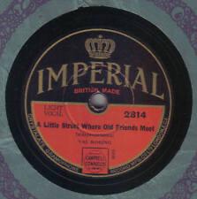 VAL ROSING - A Little Street Where Old Friends Meet / Just An Echo 78 rpm disc