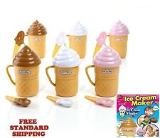 NEW SET OF 6 Ice Cream Magic Ice Cream Maker - As Seen On TV  FAST & EASY