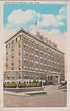 Saint Rita's Hospital in Lima, Ohio Founded in 1918 (St. Rita's Medical Center)
