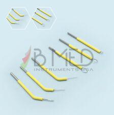 6 Associated Dental Electrode Tips Set Electrosurge For Vet Cutting Unit Art E1