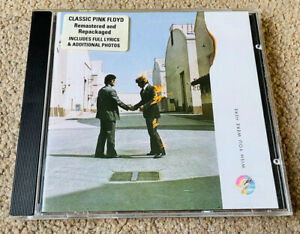 Pink Floyd - Wish You Were Here (1994) Digitally Remastered CD
