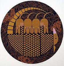 Charles/Charley Harper - Armaditto - SIGNED - Ltd Ed #190/ 1500 - armadillo art