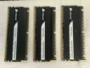 Corsair 3 x 2GB DDR3-1600 PC3-12800U 240-Pin Non-ECC Memory TR3X6G1600C8D