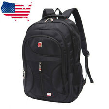 15.6'' Outdoor Men Nylon Waterproof School Backpack Satchel Travel Laptop  US
