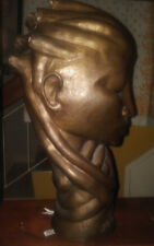 Unique Bronze Sculpture by celebrated Jamaican Artist Gene Pearson