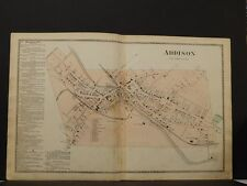 New York, Steuben County Map, 1873, City of Addison, Double Page, O6#35