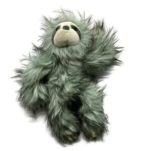 """Purely Luxe Aurora SLOTH Plush Fuzzy Stuffed Animal Limited Edition Teal 15"""""""