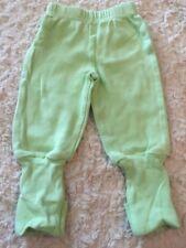 Snugabye Boys Light Green Convert-A-Foot Pants 3 Months