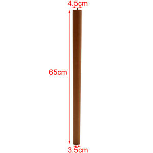 4pcs Wooden Furniture Legs 10°Angled Tapered Wood Sofa Table Replacement Feet