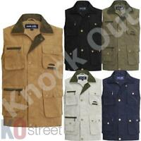 R045X Result Work-Guard Men/'s Adventure Safari Waistcoat -PPE Gillet Bodywarmer