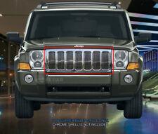 Fedar Fits 2006-2010 Jeep Commander Polished Billet Grille Insert