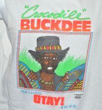 Crocodile Buckdee VTG 80s Little Rascals T-shirt Large Otay Buckwheat 1987 Cut
