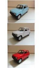 "Lot 3 Renault 5 ""R5"" Bleu, Blanc, Rouge 1/38 Welly NEUF Boite d'origine"