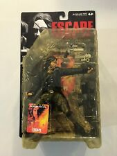 McFarlane Toys Movie Maniacs 3 Snake Plissken w/jacket Escape From L.A. New 2000