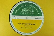 BBC 268 Transcription Disc TOP POPS Led Zeppelin Marmalade Manfred Mann