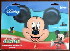 Disney Mickey Mouse Foil Balloon 07764 27x21 New Sealed Fast Free Shipping!