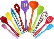 New ListingKitchen Utensil Set - 11 Cooking Utensils - Colorful Silicone Kitchen Utensils -