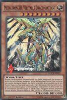 ♦Yu-Gi-Oh!♦ Métaltron XII, Véritable Dracombattant : MACR-FR025 -VF/Super Rare-