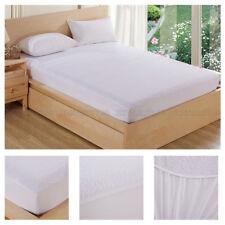Mattress Pads Cover Waterproof Bedding Sheet Protector Fitted Deep Bed Sheet