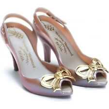 BRAND New Reino Unido Talla 6 Melissa Vivienne Westwood Anglomania Zapatos Arco Lady Dragón