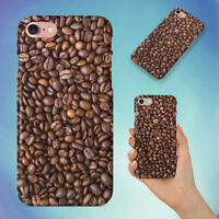 BEANS COFFEE DRINK CAFE HARD BACK CASE FOR APPLE IPHONE PHONE