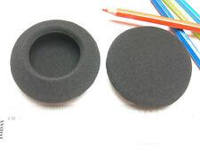 2 Ohrpolster  Schaumstoff 75 mm  für zB  Sony MDR-S303, Sansui SS-L33