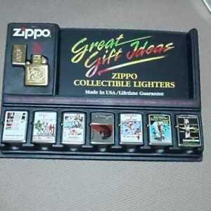 Zippo James Bond 007 Movies Lighters Collection Set of 8 Rare